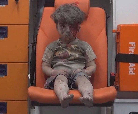 Niño Sirio Omran guerra
