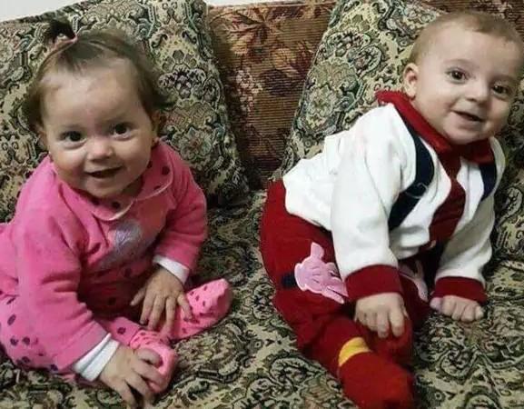 Muerte de mellizos en Siria